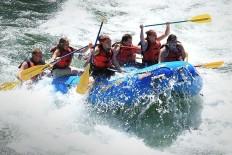 White water rafting on Snake River