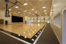 Fitness Center basketball court