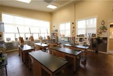 Fitness Center art classroom