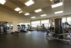 Fitness Center weight room