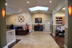 Education Center south lobby